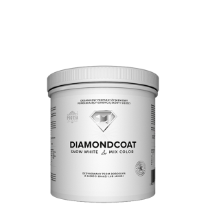 ważne do 10.12.2018 POKUSA DiamondCoat SNOW WHITE & MIX COLOR 180g
