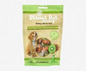 Planet Pet 2w1 Chicken & Kiwi - kurczak i kiwi (70g)