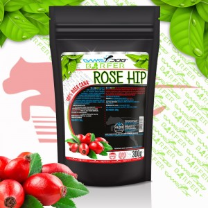 Game Dog BARFER Rose Hip - dzika róża 300g