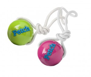 Planet Dog Orbee-Tuff Fetch Ball with Rope M