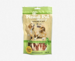 Planet Pet Chicken Fish Twist - świderki z kurczaka i dorsza (100g)