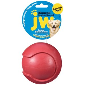 JW Pet iSqueak Bouncin' Baseball L