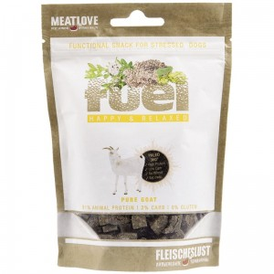 ważne do 9.04.20 MeatLove Fuel Happy & Relax 80g - koza