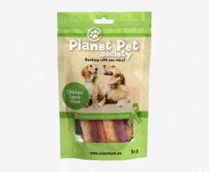 Planet Pet Chicken Lamb Slice - plasterki kurczak i jagnięcina (80g)