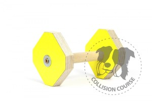 Aport Obedience Collision Course YELLOW S