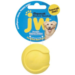 JW Pet iSqueak Bouncin' Baseball S