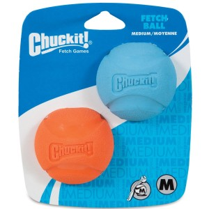 Chuckit! FETCH BALL M (2 pak)