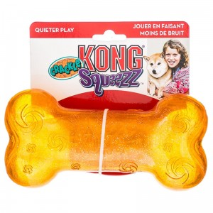 KONG Crackle Squeezz bone M