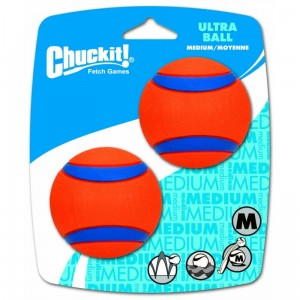 Chuckit! ULTRA BALL M - 6,5 cm - 2pack