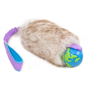 ZAYMA Craft - owcze futro z piłką Planet Dog Orbee Ball - M/L