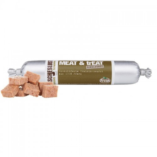MeatLove MEAT & trEAT Horse 80g